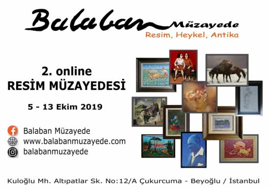 2. Online Resim Müzayedesi