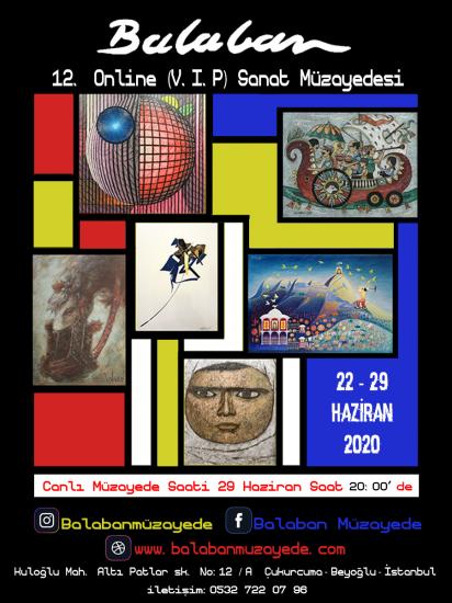 12. Online (V.I.P) Sanat Müzayedesi
