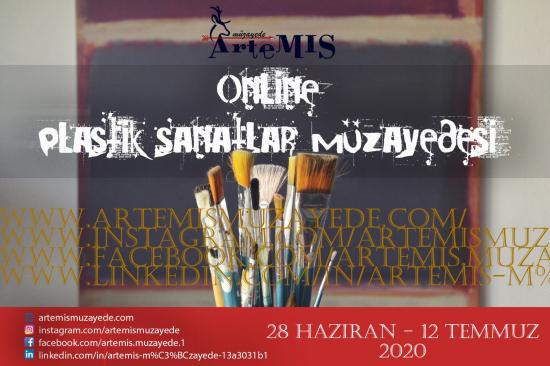 1. Artemis Online Plastik Sanatlar Müzayedesi
