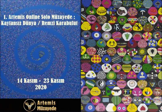 1. Artemis Online Solo Müzayede : ''Kaytansız Dünya'' / Remzi Karabulut