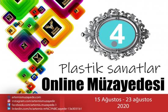 4. Artemis Online Plastik Sanatlar Müzayedesi