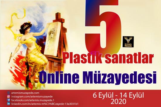 5. Artemis Online Plastik Sanatlar Müzayedesi
