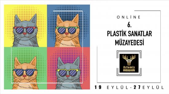 6. Artemis Online Plastik Sanatlar Müzayedesi