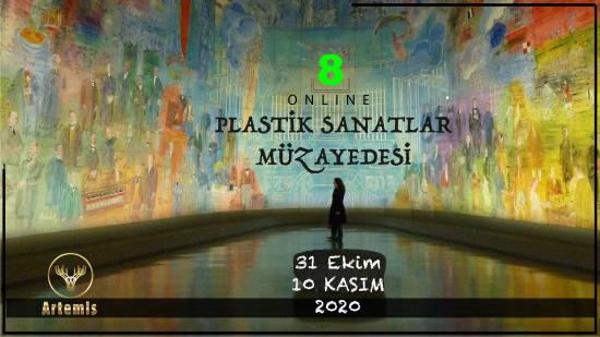 8. Artemis Online Plastik Sanatlar Müzayedesi