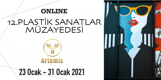 12. Artemis Online Plastik Sanatlar Müzayedesi